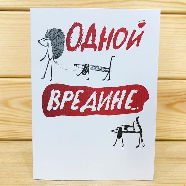 Смешных минусов, открытки для вредин