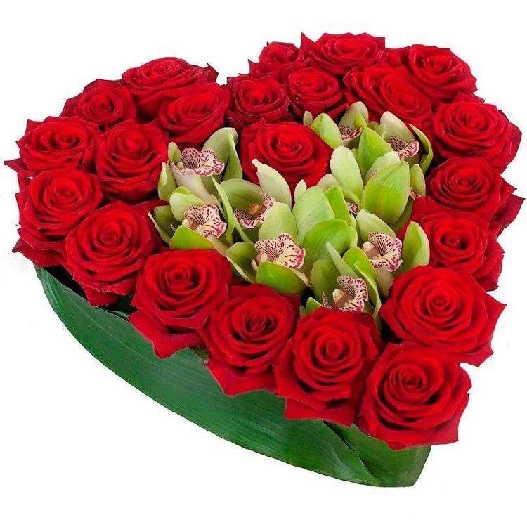 Открытки девушке букеты цветов